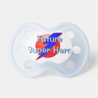 Pacificador del bebé del superhéroe chupetes