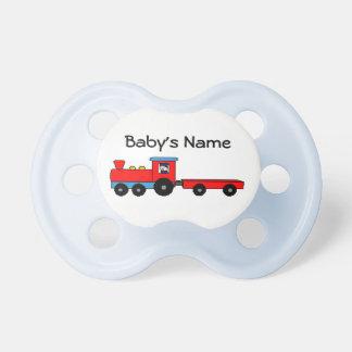 Pacificador del bebé del tren chupetes para bebés