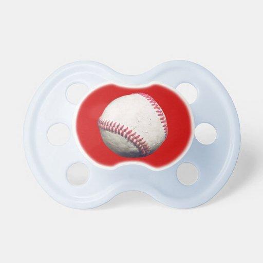 Pacificador del béisbol chupetes de bebe