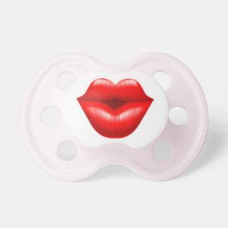 Pacificador del beso chupetes para bebes