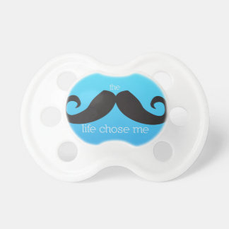 Pacificador del bigote -- La vida de Stache me eli Chupetes Para Bebés