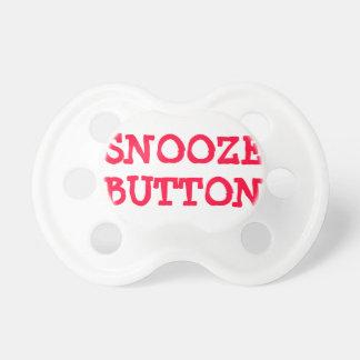 Pacificador del botón de la cabezada chupetes