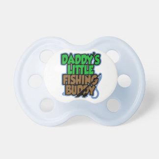 Pacificador del compinche de la pesca de Daddys Chupete De Bebe