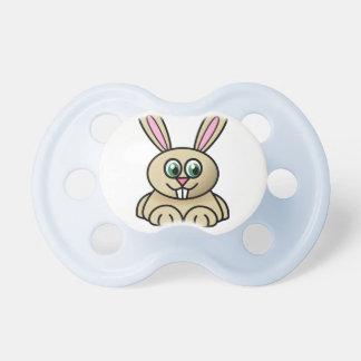 pacificador del conejito chupetes para bebés