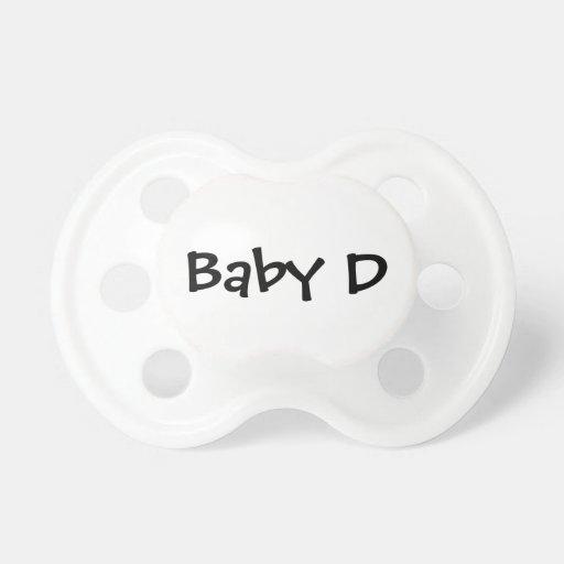 Pacificador del cuadrúpedo del bebé D Chupete