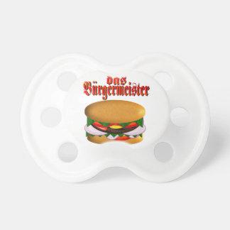 pacificador del das Burgermeister Chupetes Para Bebés