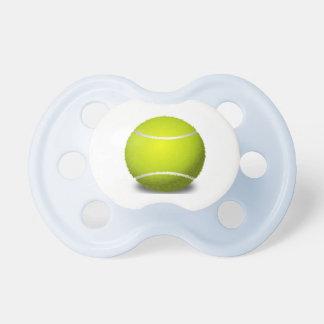Pacificador del diseño de la pelota de tenis chupetes de bebe