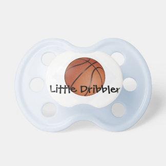 Pacificador del diseño del baloncesto chupete de bebé