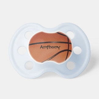 Pacificador del diseño del baloncesto chupetes de bebe