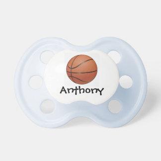 Pacificador del diseño del baloncesto chupetes para bebes
