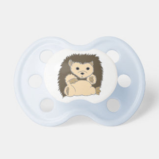 Pacificador del erizo chupetes de bebé