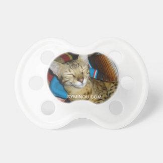 Pacificador del gato chupetes para bebés