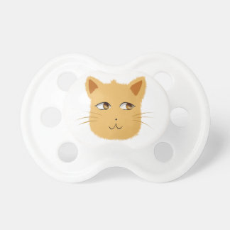 Pacificador del gato chupete de bebé