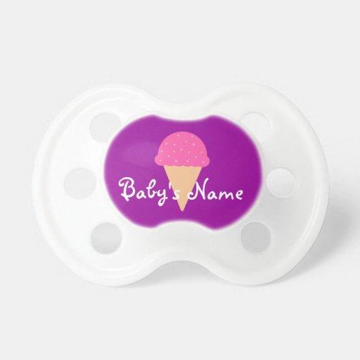 Pacificador del helado - modifiqúelo para requisit chupete de bebe