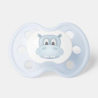 Pacificador del hipopótamo chupete de bebé