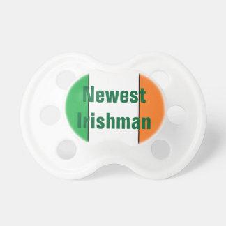 """Pacificador del """"más nuevo irlandés"""" chupete de bebé"""