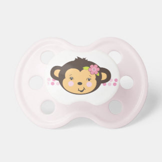 Pacificador del mono el | del chica chupete de bebe