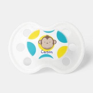 Pacificador del muchacho del mono de la MOD Chupetes Para Bebes