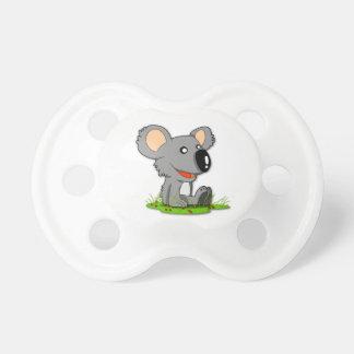 Pacificador del oso de koala chupetes de bebé