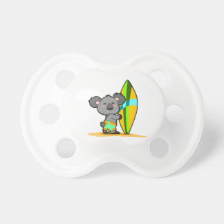 Pacificador del oso de koala de la resaca chupetes de bebé