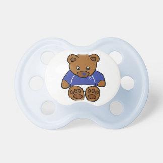 pacificador del oso del bluenose chupetes de bebe