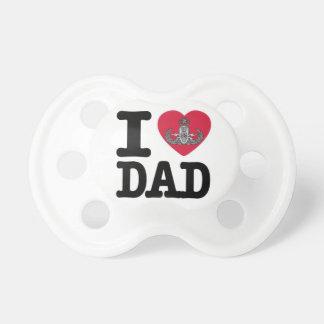 Pacificador del papá del amor del EOD I del person Chupete De Bebé