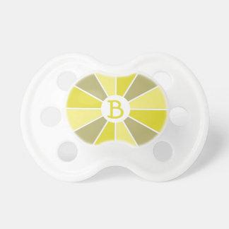 Pacificador del personalizado de la rueda/de los chupetes de bebe