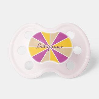 Pacificador del personalizado de la rueda/de los chupetes para bebés