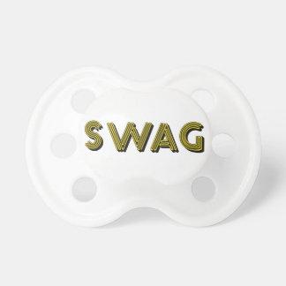 Pacificador del personalizado del SWAG Chupete De Bebé