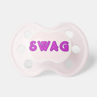 Pacificador del personalizado del SWAG Chupetes De Bebe