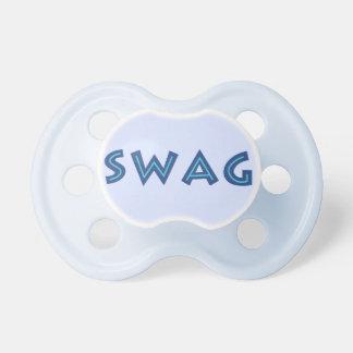 Pacificador del personalizado del SWAG Chupetes Para Bebes