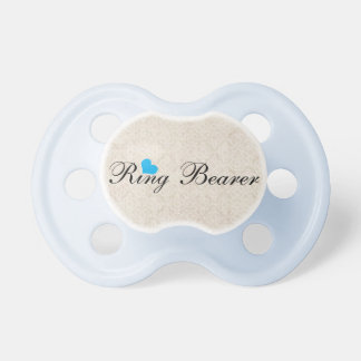 Pacificador del portador de anillo chupete de bebé