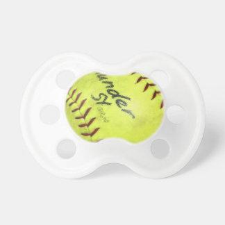 Pacificador del softball chupete de bebé