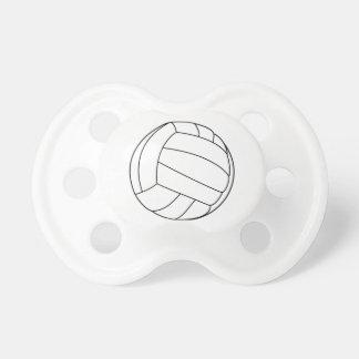 Pacificador del voleibol chupete de bebe