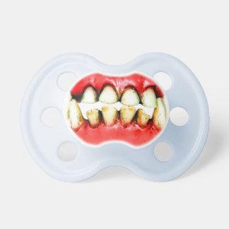 pacificador, diente, vampiro chupetes de bebé