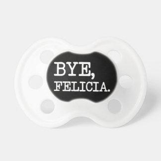 Pacificador divertido de Felicia del adiós Chupete De Bebé