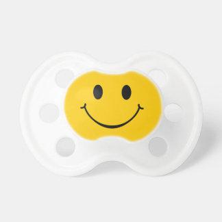Pacificador divertido sonriente de la cara feliz chupetes para bebes