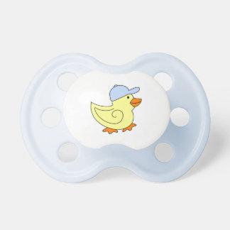 Pacificador Ducky de encargo del bebé Chupete