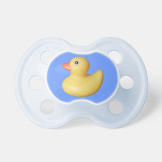 Pacificador Ducky de goma amarillo Chupetes De Bebe