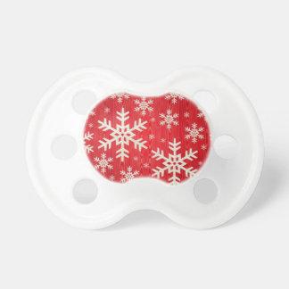 Pacificador estacional del navidad del bebé del *S Chupetes De Bebé