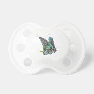Pacificador exótico de la mariposa chupete