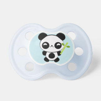 Pacificador feliz de la panda del bebé chupete
