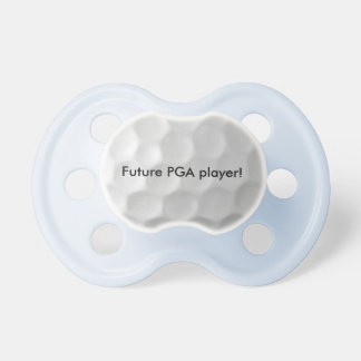 Pacificador futuro del bebé del jugador de PGA Chupete De Bebé
