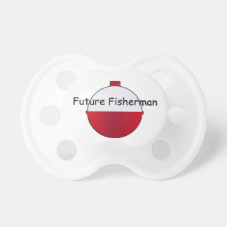 Pacificador futuro del niño del pescador chupetes