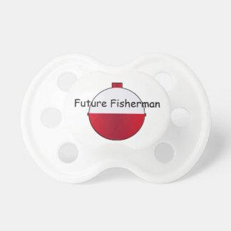 Pacificador futuro del niño del pescador chupetes para bebés