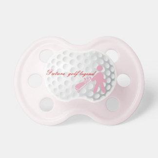 Pacificador Golfing de la niña de la leyenda Chupetes Para Bebes