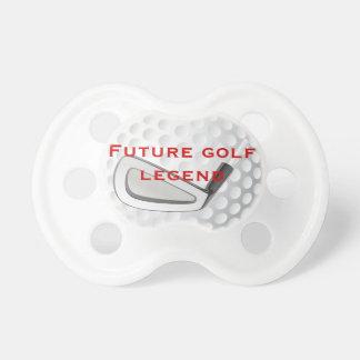 Pacificador Golfing del bebé de la leyenda futura  Chupete De Bebe