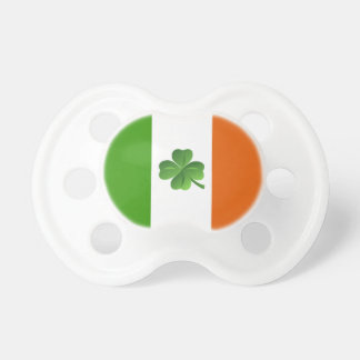Pacificador irlandés de la bandera chupetes para bebes