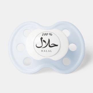 Pacificador islámico Halal del bebé del 100%, bebé Chupete De Bebe
