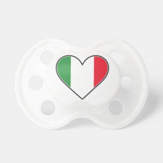 Pacificador italiano del corazón chupetes